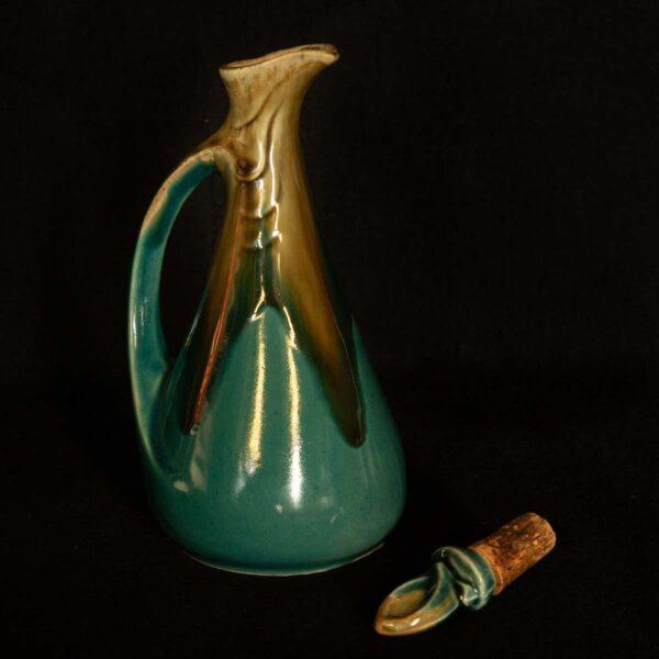 Denbac ceramic liquor decanter